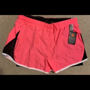 RBX running shorts with spandex! NWT
